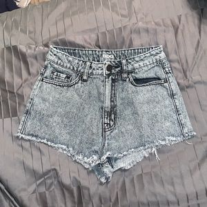 BDG High Rise Dree Shorts Denim Jean Size 25